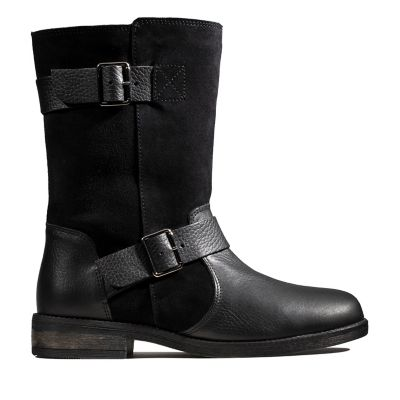 64abd0fedbf8d Women's Black Ankle Boots | Black Leather & Suede Ankle Boots | Clarks