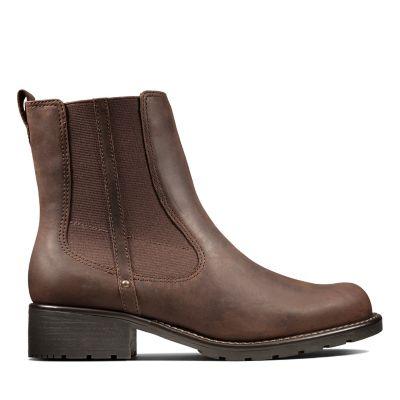 Boots Clarks Boots Clarks Braun DamenStiefel Damenstiefel Braun Damenstiefel DamenStiefel R35AjqL4