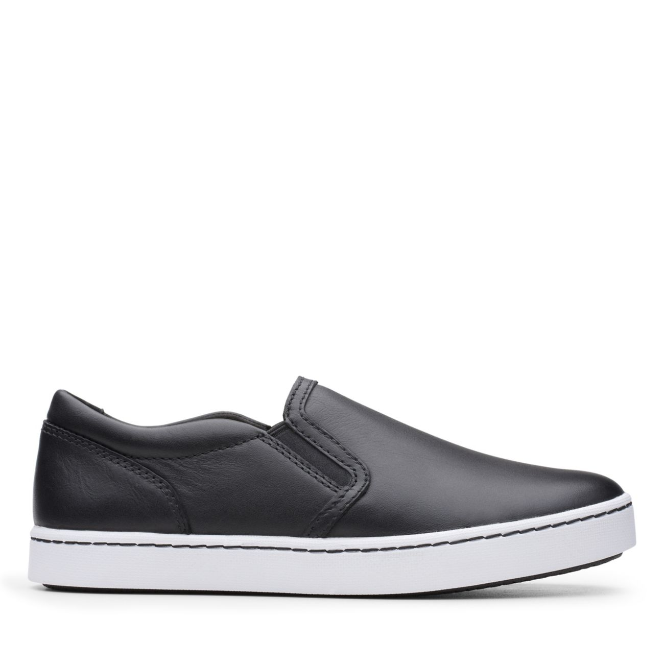 Pawley Bliss Black Leather - Clarks® Shoes Official Site | Clarks