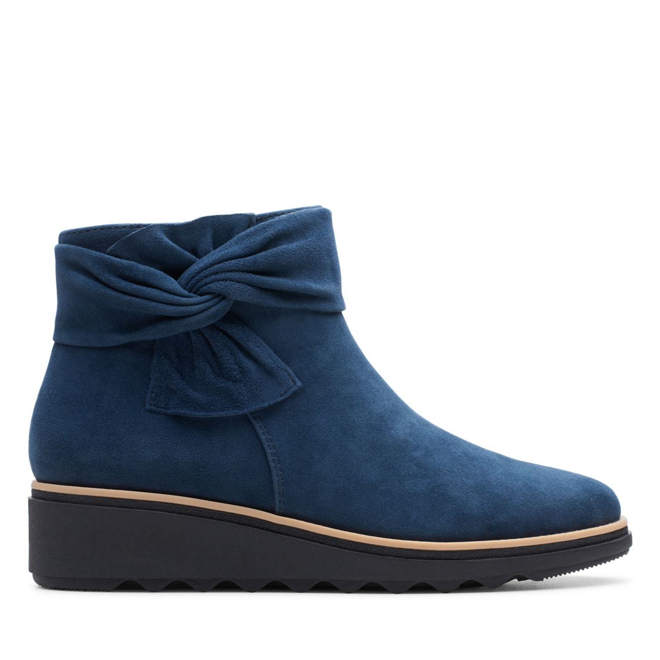 Sharon Salon Navy Suede - Clarks® Shoes Official Site | Clarks