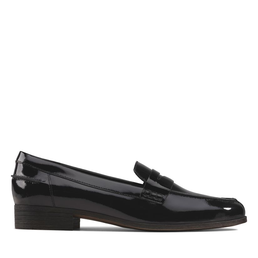 Groenlandia Doctor en Filosofía Moral  Hamble Loafer Black Patent-Womens Brogues-Clarks® Shoes Official Site |  Clarks