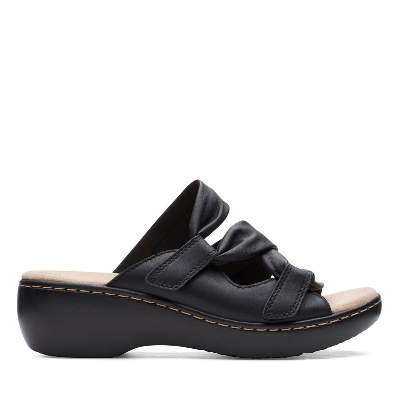 Delana Jazz Black Leather - Clarks® Shoes Official Site | Clarks