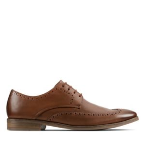 Stanford Limit Tan Leather