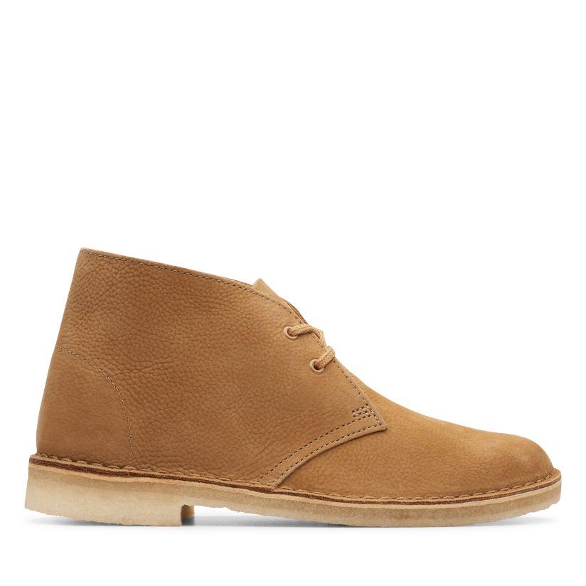 Women's CLARKS Boots Nubuck Leather