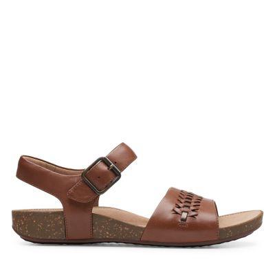 Womens Clarks® Arla Belle Strappy Sandals