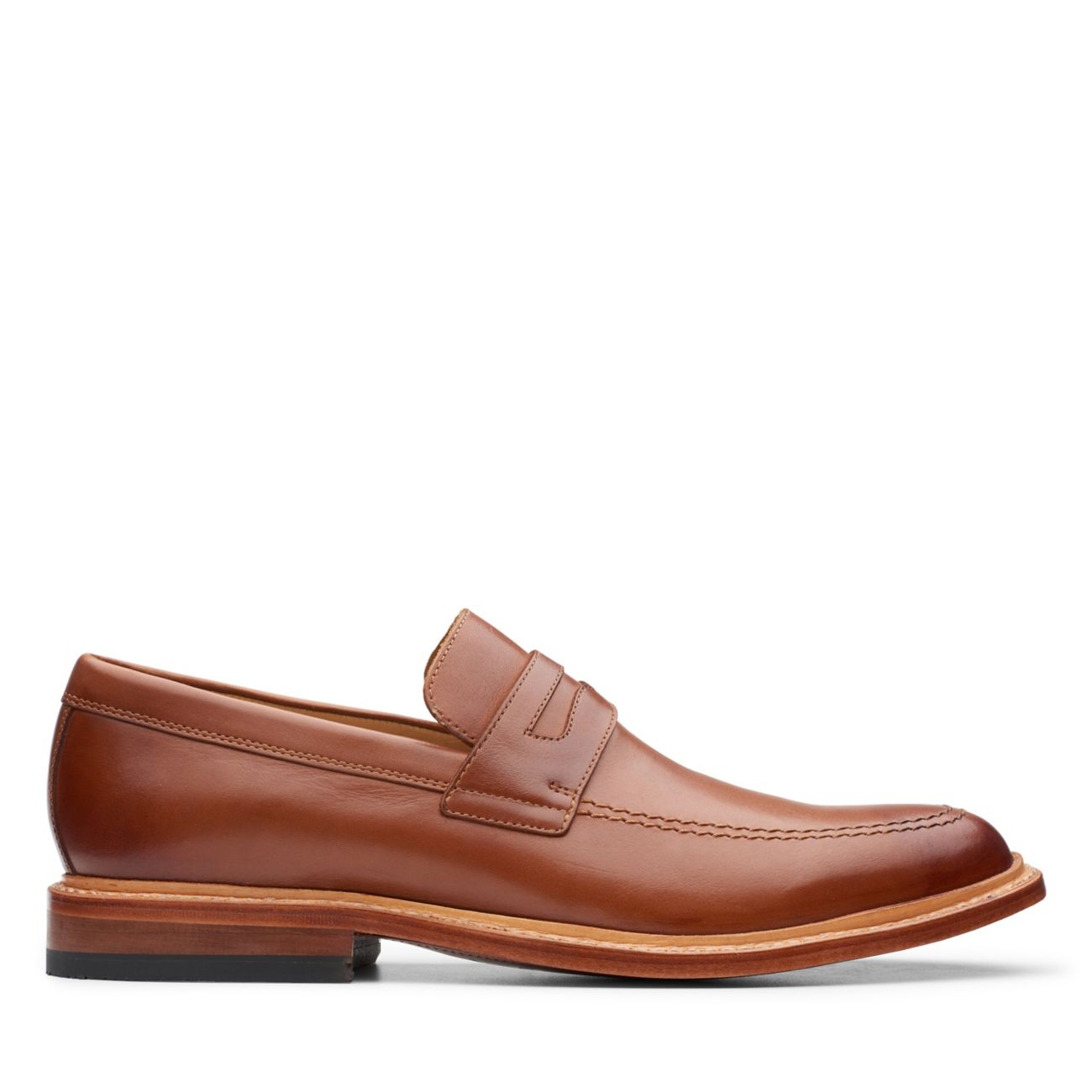 No16 Soft Way Dark Tan Leather - Office Casual - Clarks® Shoes Official Site   | Clarks