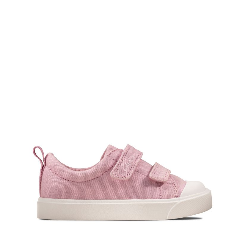 CLARKS Clarks Girls Sandal Play Bright Toddler Pink