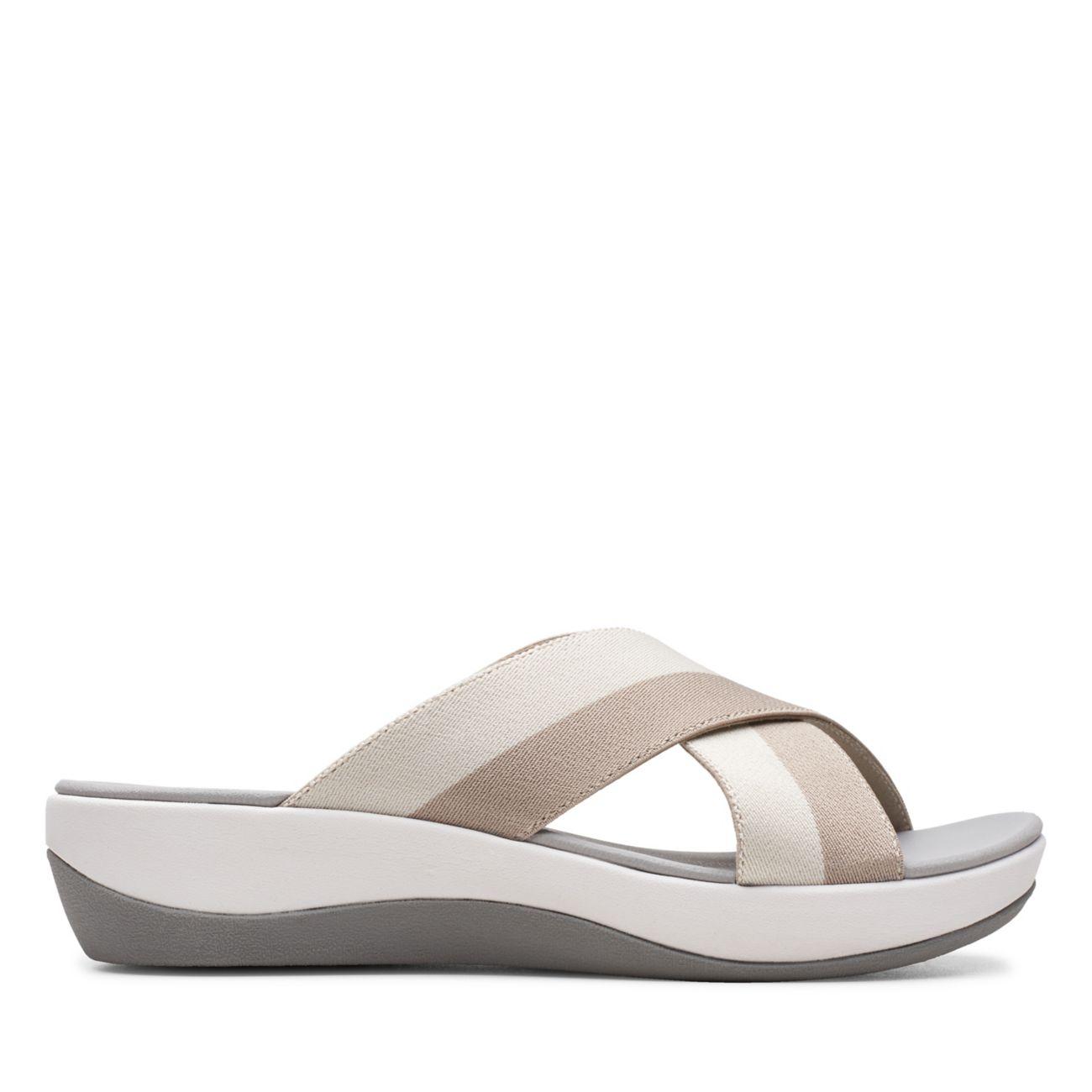 Arla Elin Sand Multi- Womens Sandals - Clarks® Shoes Official Site | Clarks