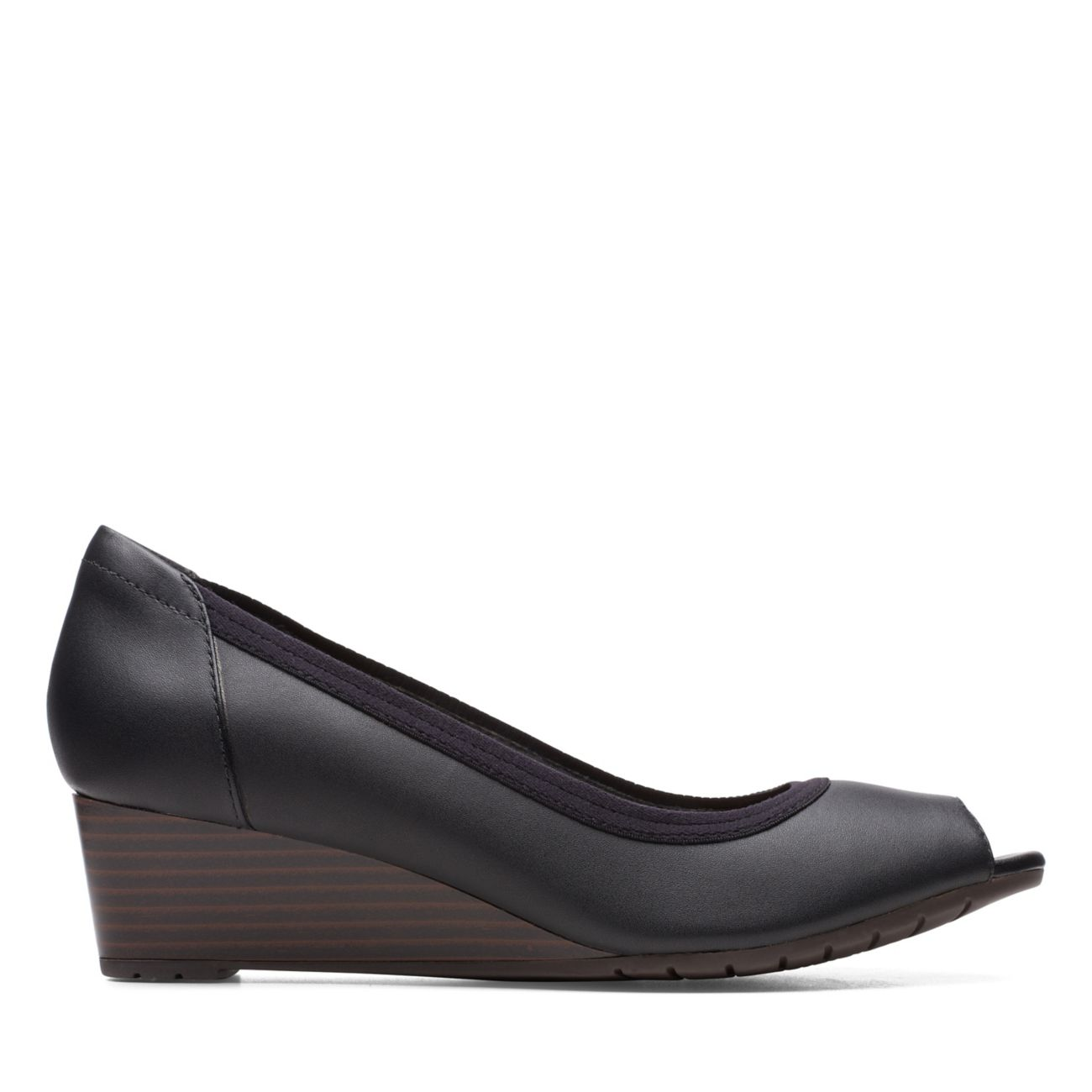 Mallory Charm Black Leather - Womens Dress Shoes - Clarks® Shoes Official Site     Clarks