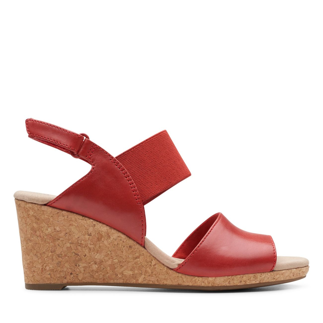 Lafley Lily Red- Clarks® Shoes Official Site | Clarks