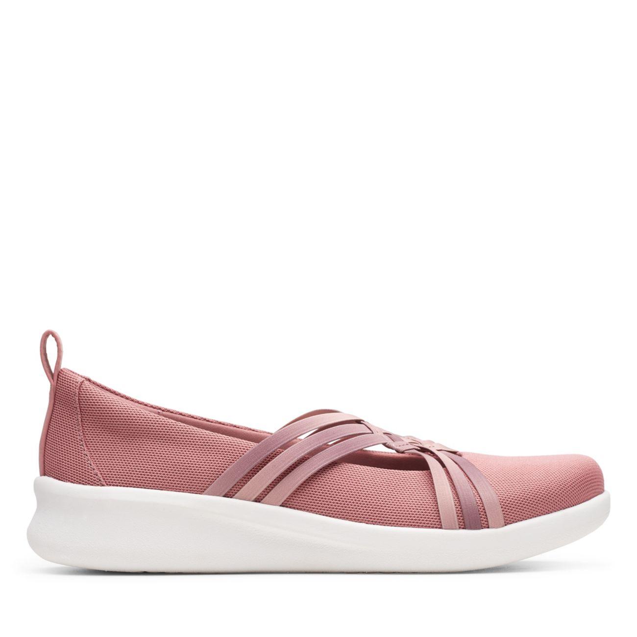 Sillian2.0 Cora Mauve-Womens Slip Ons-Clarks® Shoes Official Site   | Clarks