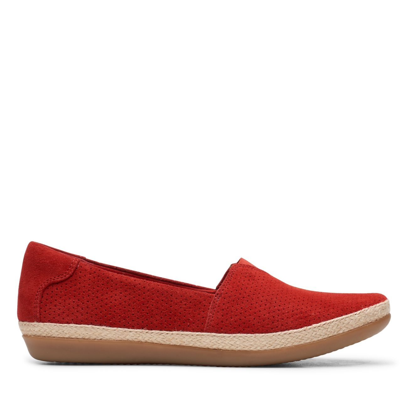 Danelly Sky Red Suede | Clarks