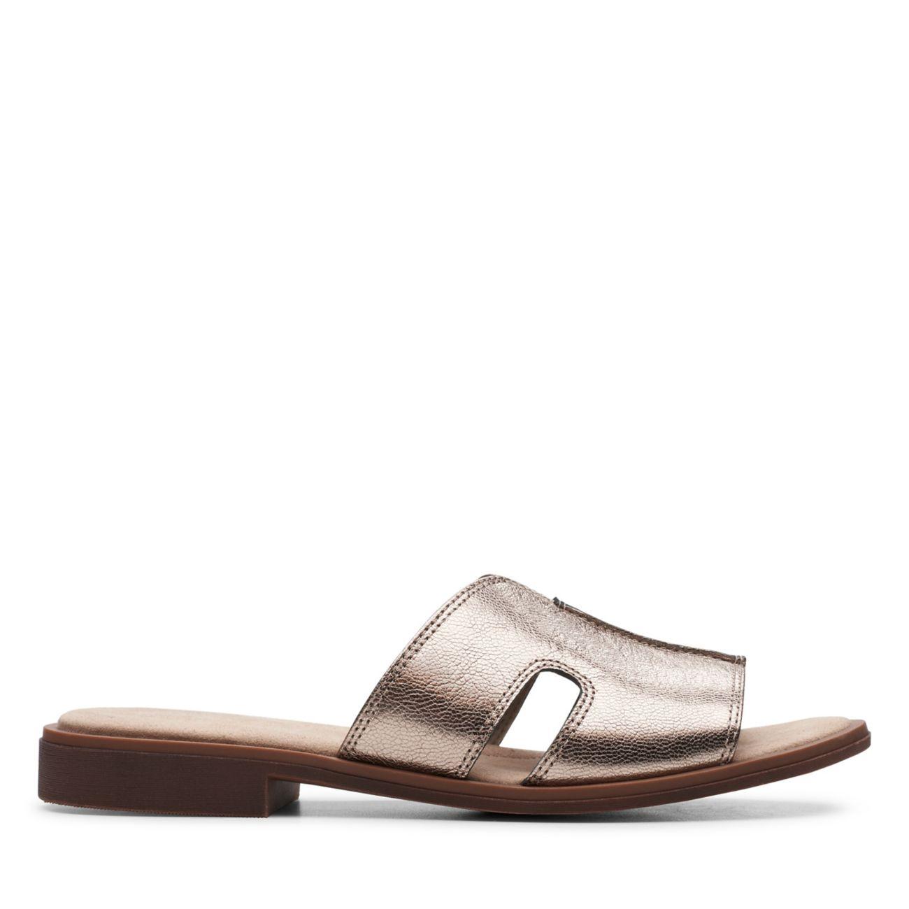 Declan Flo Metallic Leather - Clarks® Shoes Official Site   Clarks