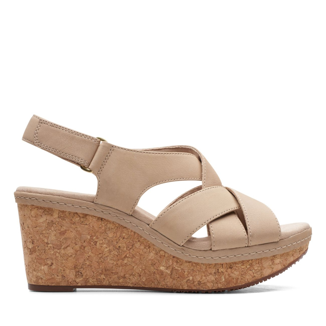Annadel Pearl Sand Nubuck - Clarks® Shoes Official Site | Clarks