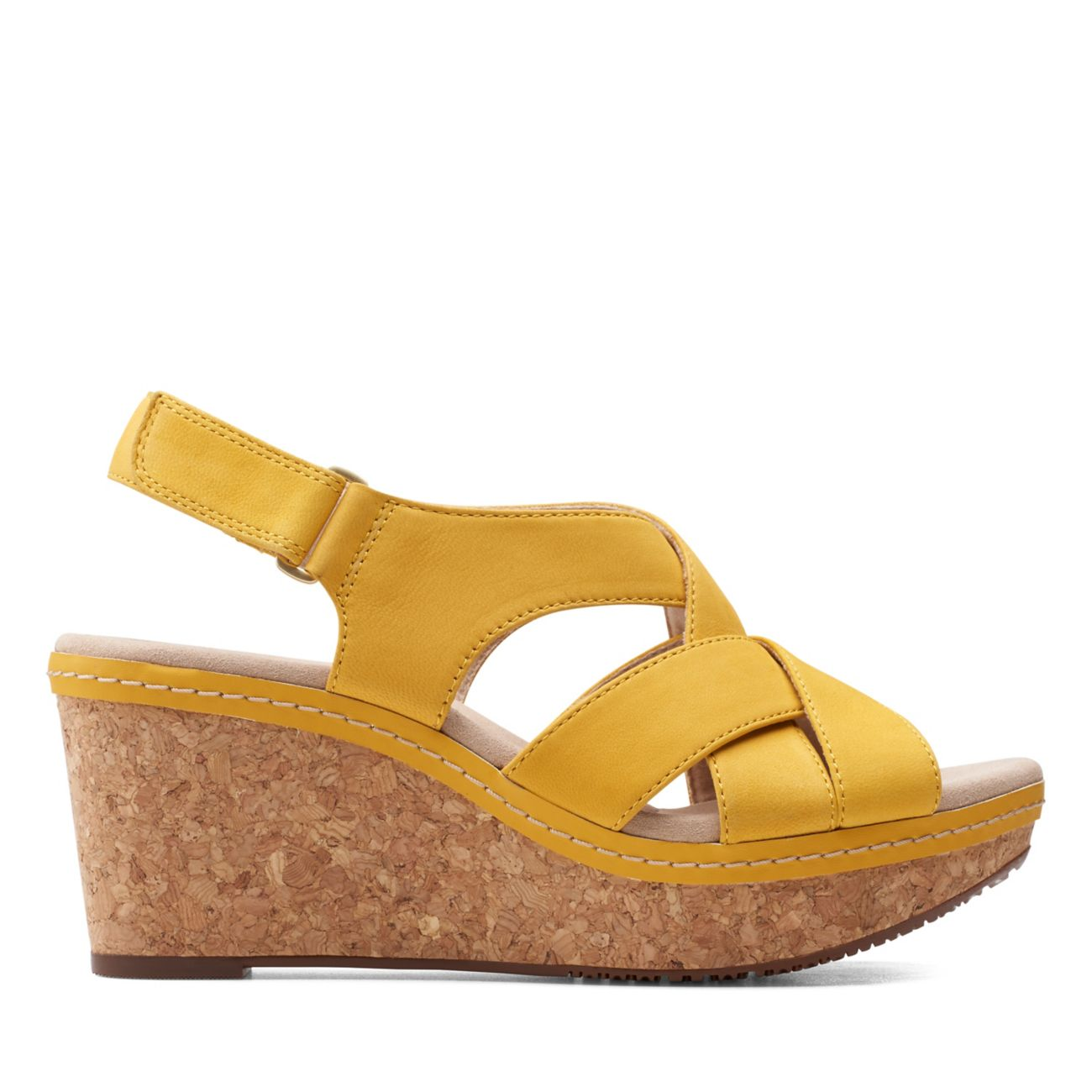 Annadel Pearl Yellow Nubuck - Clarks® Shoes Official Site | Clarks