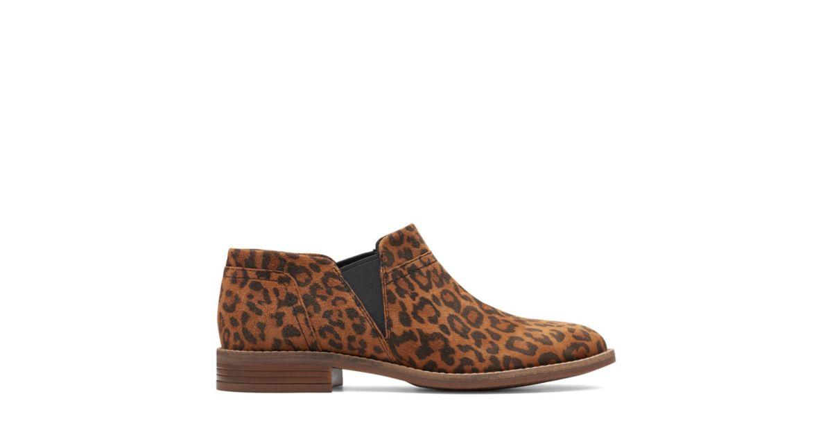 Clarks Camzin Mix Leopard Print