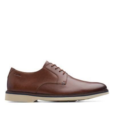 Malwood Plain Dark Tan Leather
