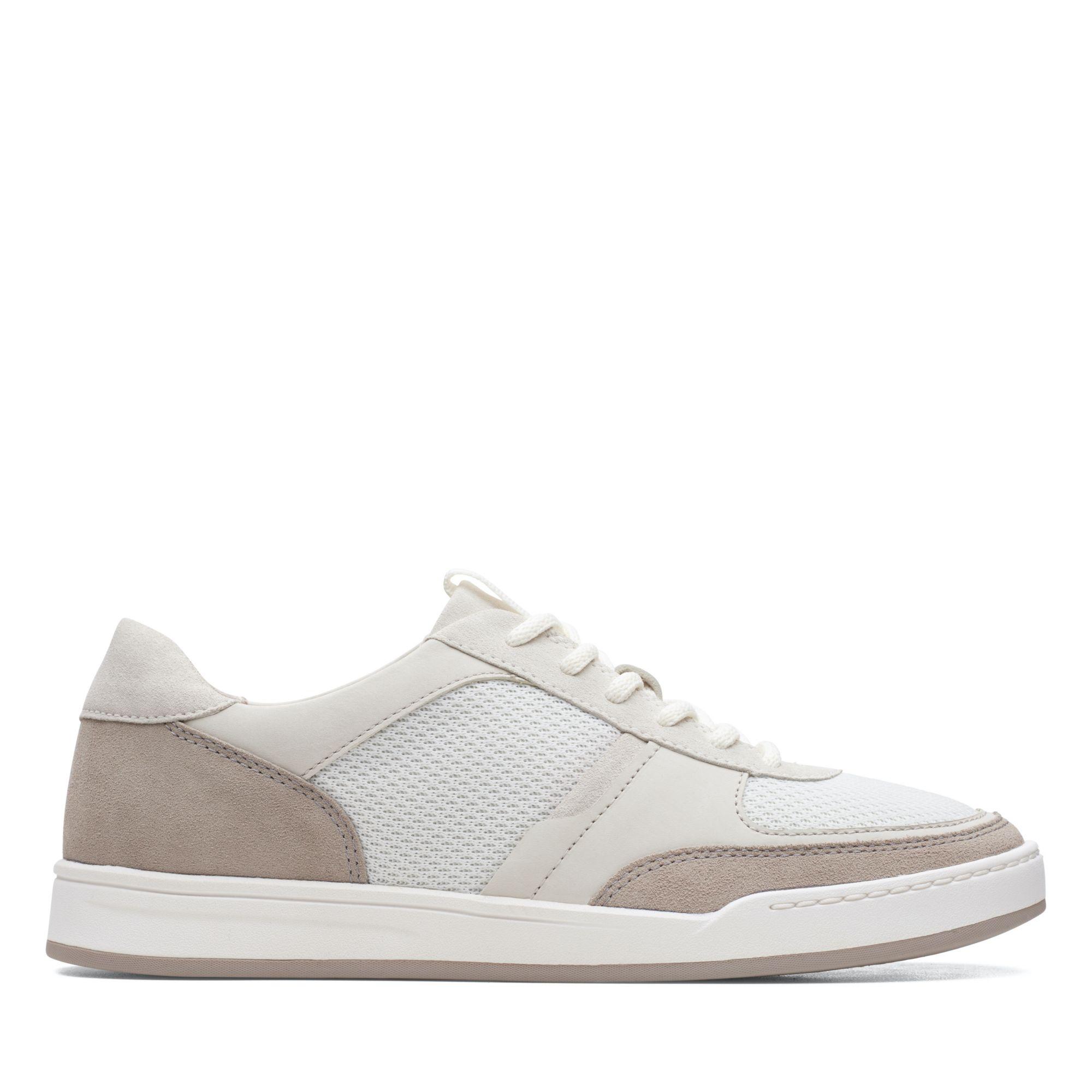 Clarks Bizby Lace Stone Combi Shoes
