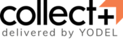Collect Plus delivered by Yodel logo