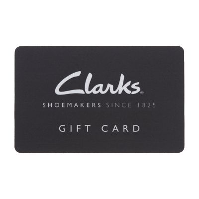 photograph relating to Shoe Station Printable Coupon identified as Clarks Present Card