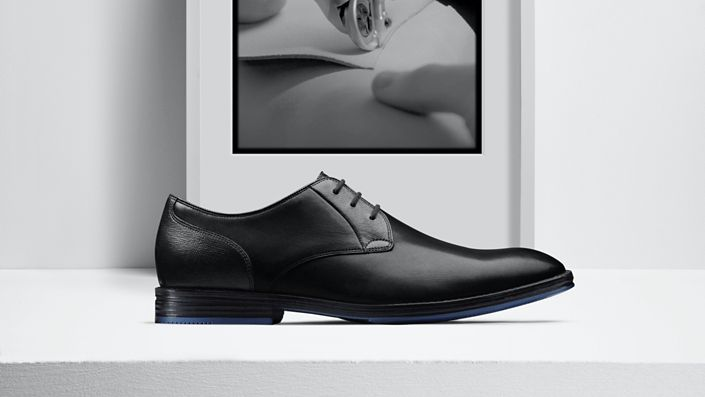 Mens Citistide lace dress shoe in black