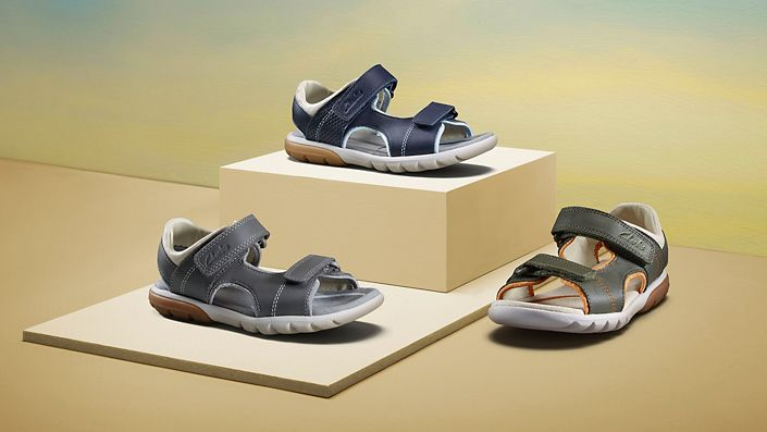 Boys Sandals - Rocco Wave