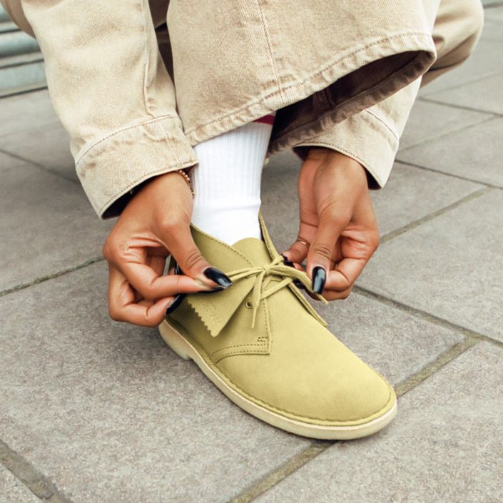 Womens Wallabees