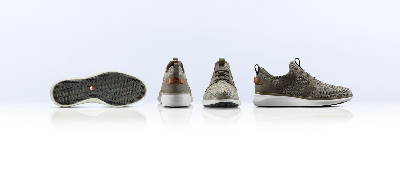 angled views of theUn Globe Lacemens shoe