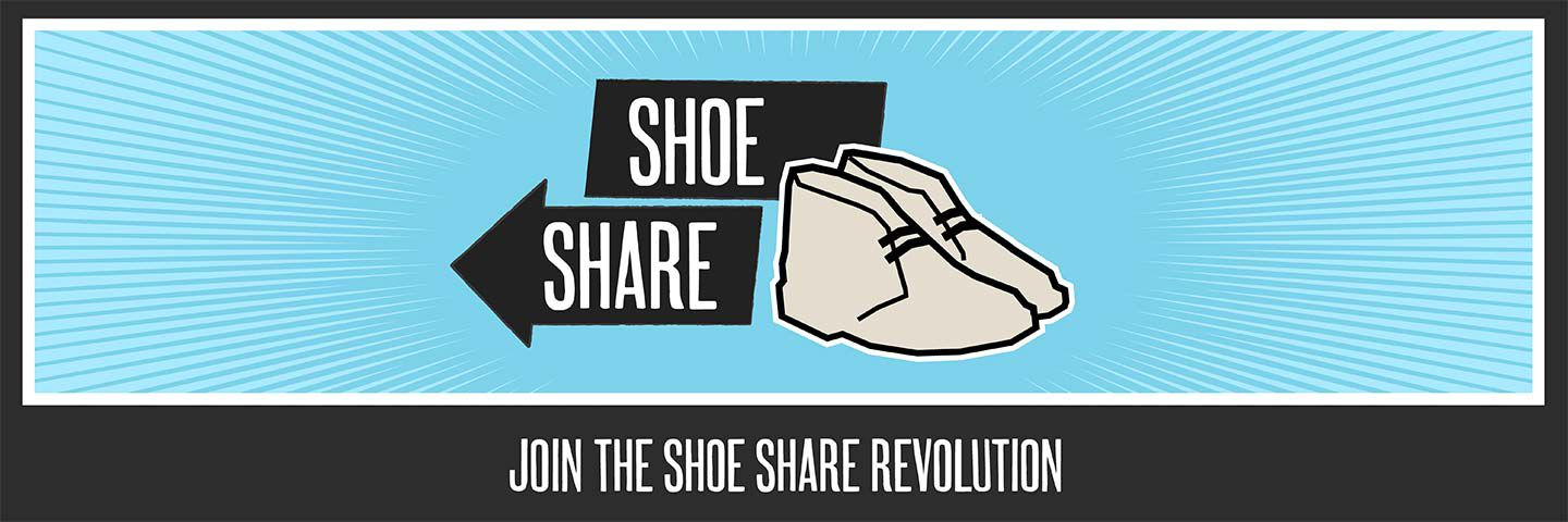 Join the Shoe Share revolution