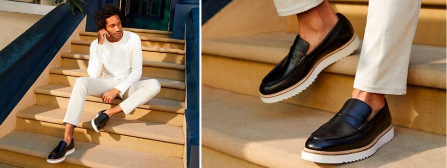Clarks Ernest Free Black shoes