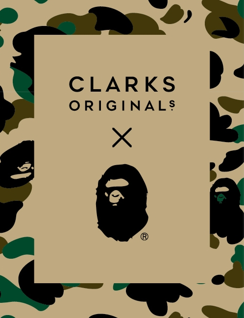 Clarks Originals X Bape