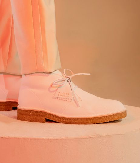 Close up of the Desert Boot 221