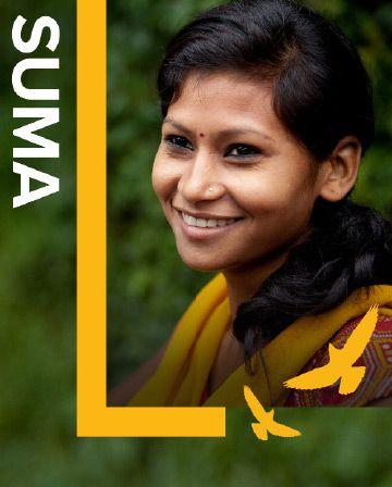 Portrait de la jeune Suma