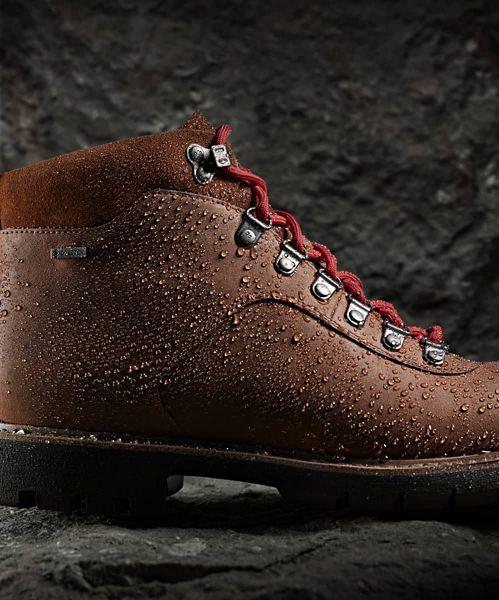 Shop Batcombe Alp GORE-TEX Tan Leather