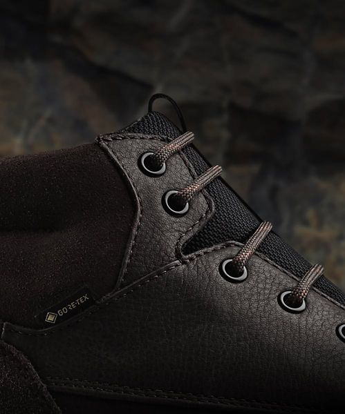 hop Ashcombe Hi GORE-TEX Brown Warmlined Leather