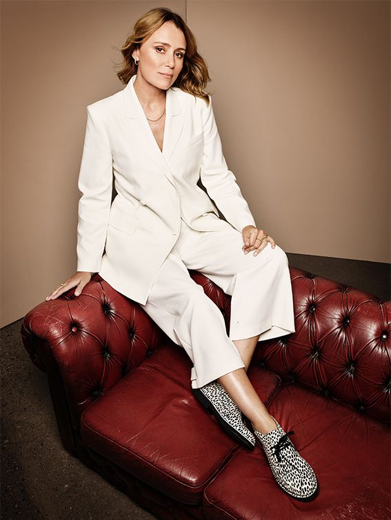 Keeley Hawes wearing Desert Boot 2 Dalmatian | Shop the collection
