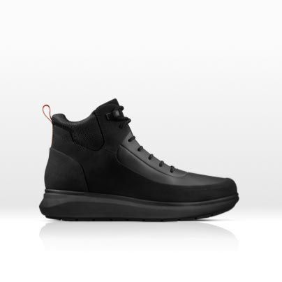Men's Venture Up sports boot in black combi leather