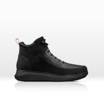 Men's Venture Up sports boot in black combi leather