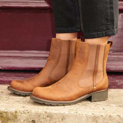 Women's Orinoco Club boot in tan leather