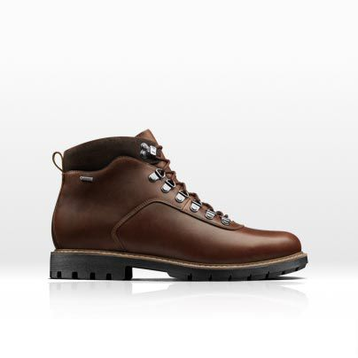 Men's Batcome Alp GTX waterproof boot in brown leather