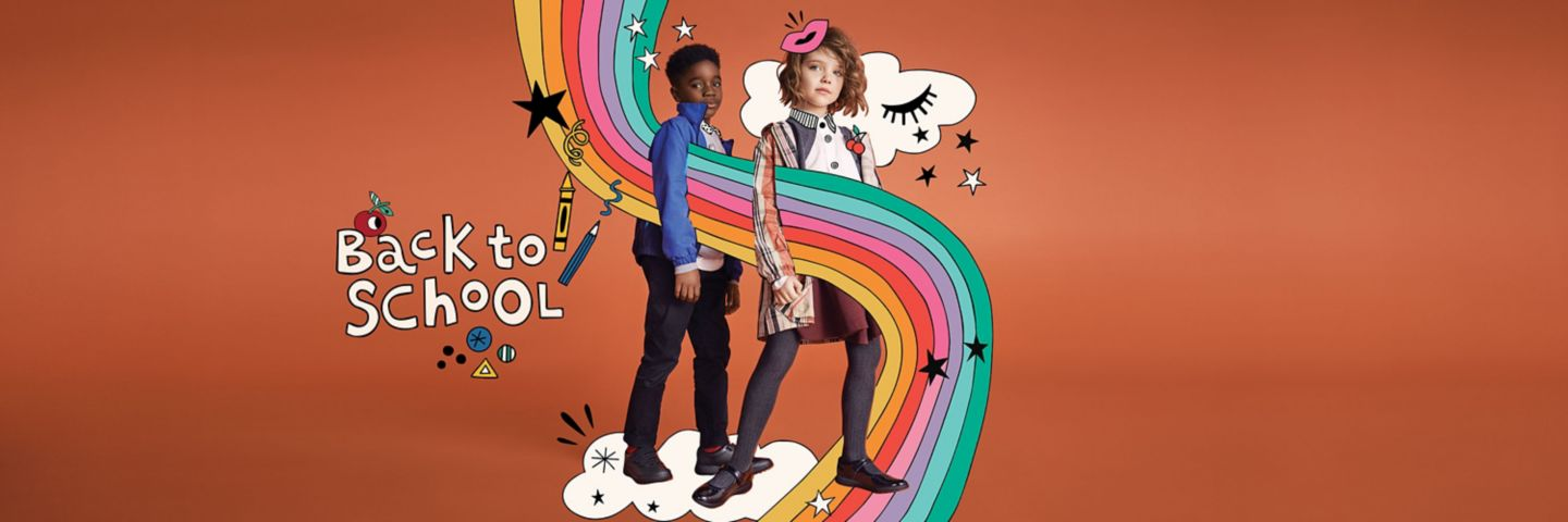 Back to school hub, discover school shoes