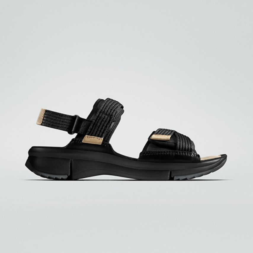 Black Tri Walk Sandal