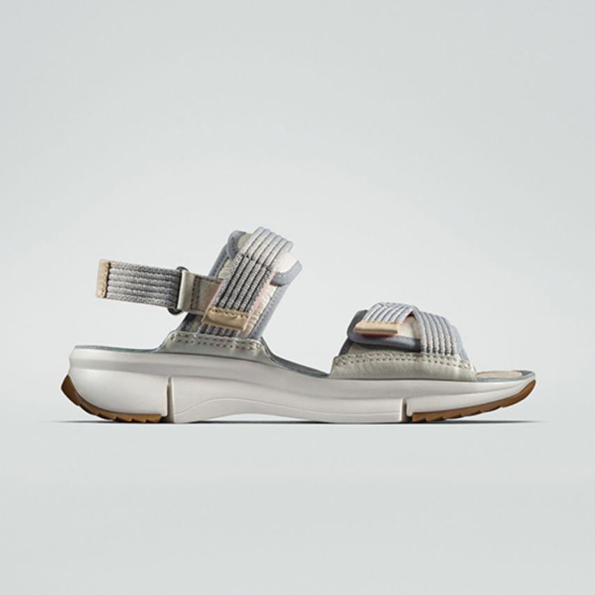White Tri Walk Sandal