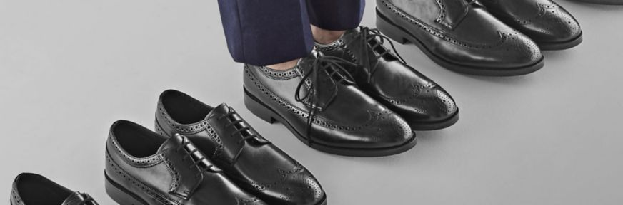 Clarks Oliver Wing Brogues