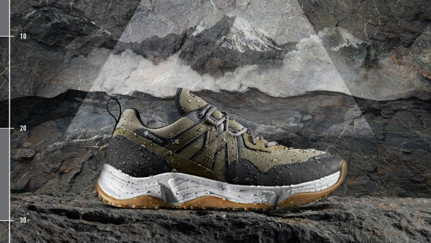 Tri Path Trek shoes in Dark Olive