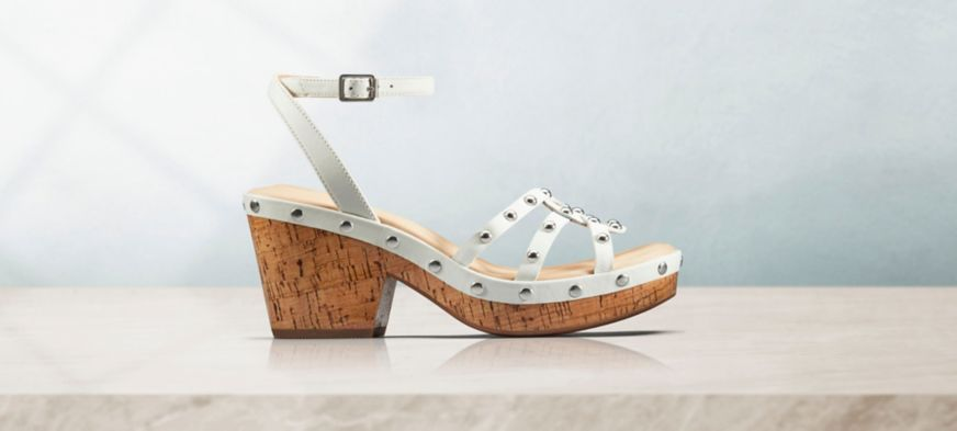Maritsa70 Strap Heels in Taupe