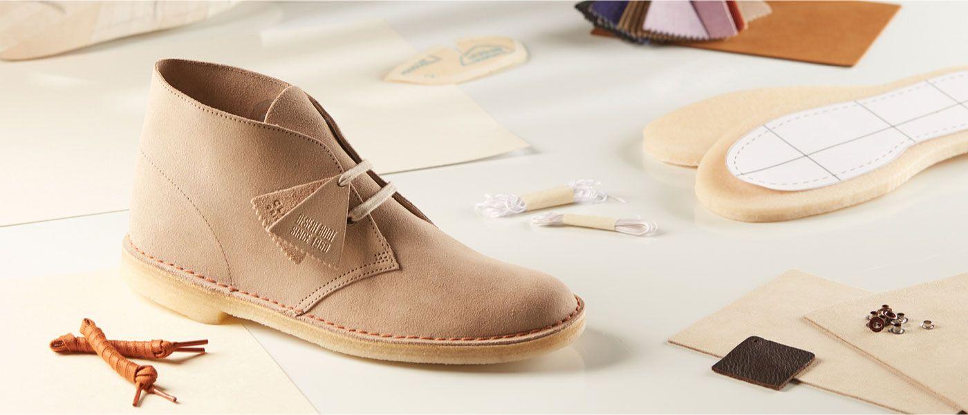 A brown Desert Boot