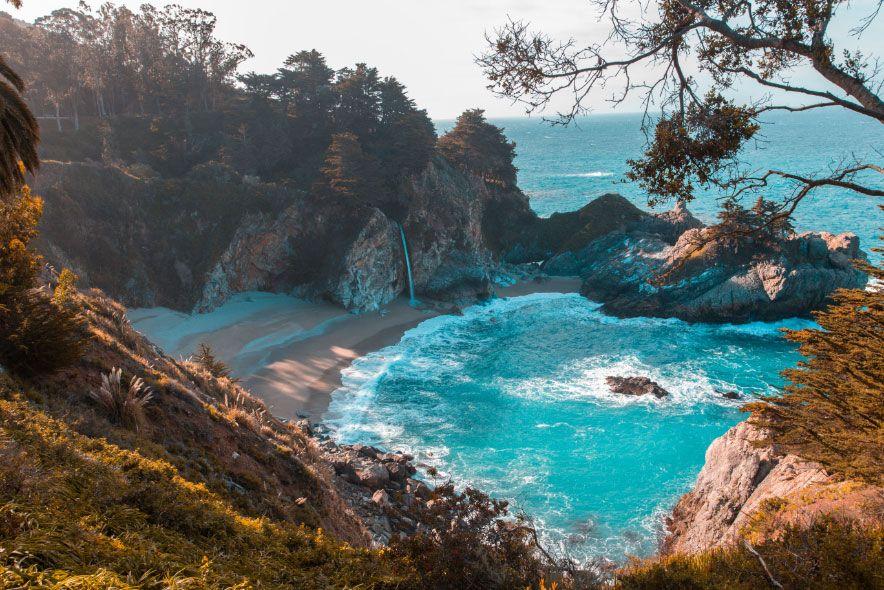 A seaside photo