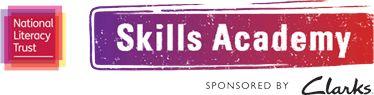 National Literacy Trust - Skills Academy sponsored by Clarks logo