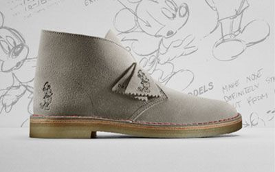 Mickey Mouse embossed Desert Boot